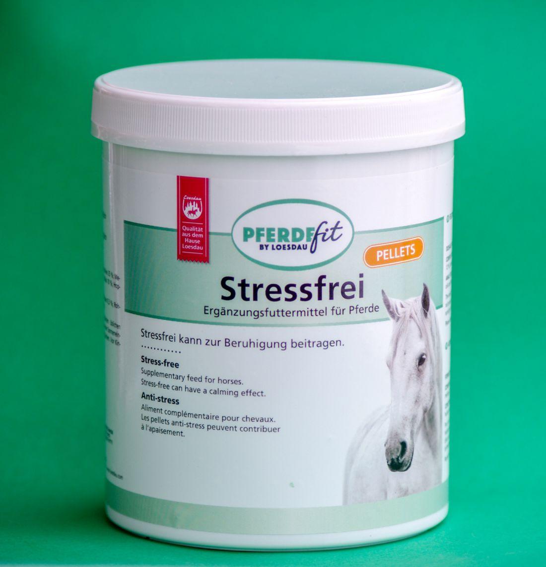 Stresszcsökkentő-pellet, loesdau PFERDEfit