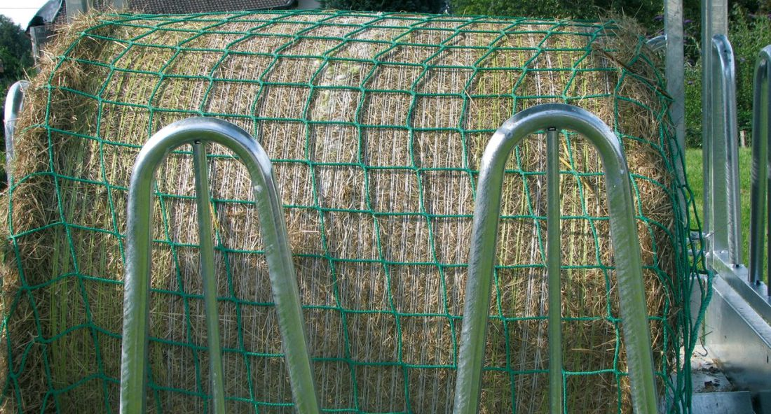 KERBL takarmányháló-széna-bálaháló
